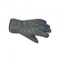 Перчатки флисовые Norfin SHIFTER серого цвета