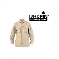 Рубашка Norfin Cool Long Sleeve (beige) песочного цвета