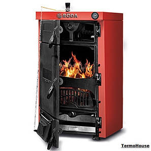 Чугунный котел длительного горения Roda Brenner Classic BC-08 41 кВт (Рёда), фото 2
