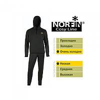 Термобелье мужское Norfin Cosy Line черного цвета