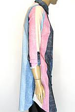 Пляжна  туніка - сорочка в полоску , фото 3