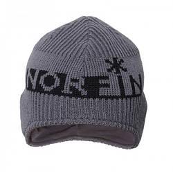 Шапка Norfin серого цвета