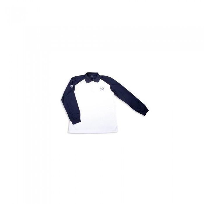 Тениска с длинным рукавом Okuma M бело синего цвета