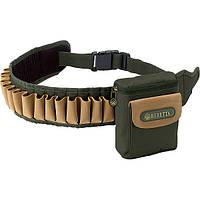 "Патронташ ""Beretta"" Retriever с сумкой 20к. зеленого цвета / патронташ охотничий"