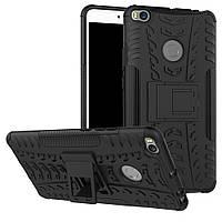 Чехол Armor для Xiaomi Mi Max 2 противоударный Бампер черный
