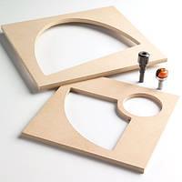 Комплект для изготовления деревянных чаш и подносов