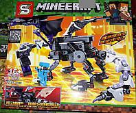 Конструктор SY 7043 Майнкрафт Minecraft Дракон 285 деталей, фото 1