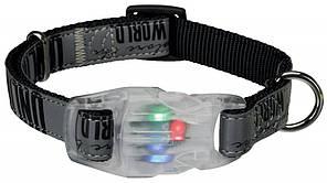 Trixie TX 12324 нашийник для собак 40-65 см з миготливим пряжкою