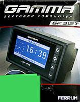 Маршрутный бортовой компьютер GAMMA GF 312T для ВАЗ 2110 c синей / зеленой подсветкой