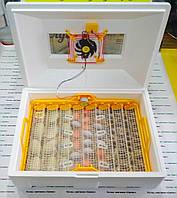 """Инкубатор теновый """"Теплуша Люкс 12Вольт"""" 72 яйца (куриных),автоматический переворот,цифровой термометр."""