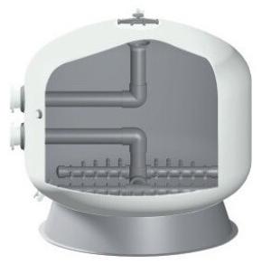 Конструкция фильтров Hayward серии HCFE Bobbin