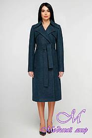 Классическое женское пальто большого размера (р. 44-54) арт. 1178 Тон 4