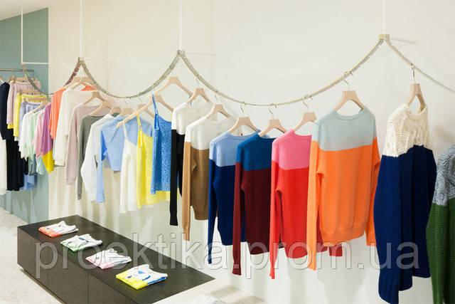 Вешалки для одежды с креплением в стену