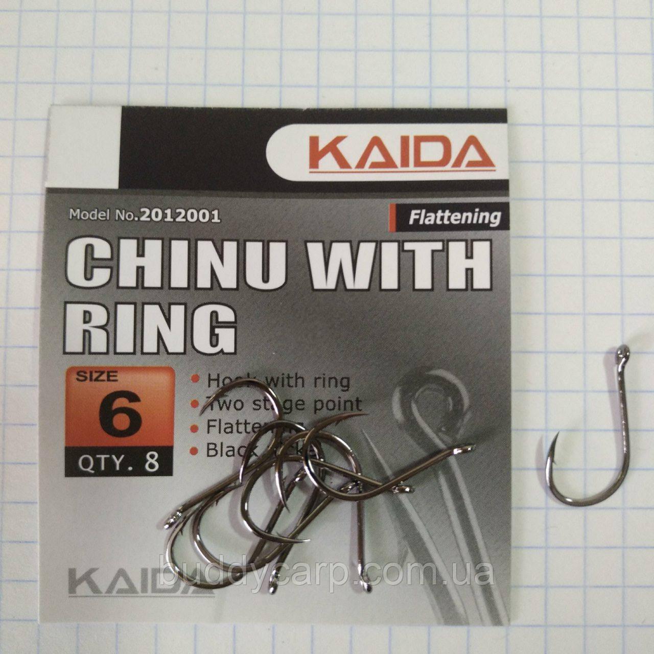 Крючки Kaida Chinu With Ring # 6