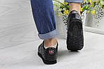 Женские кроссовки Reebok Classic (черные), фото 4