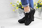 Женские кроссовки Reebok Classic (черные), фото 3