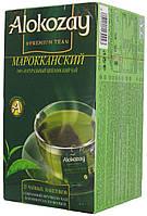 Чай зеленый Алокозай Мароканська М'ята 25п