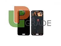 Дисплей для Samsung E500H Galaxy E5 + тачскрин, серый, OLED, копия хорошего качества