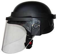 Шлем с защитным стеклом Roco 5,5мм черного цвета