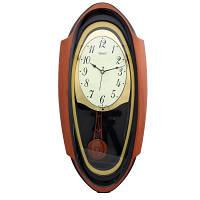 Настенные часы с маятником Rikon 13351 PND Black