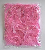Перья нежно-розовые 12 г/ упак. (длина 5-10 см,≈150 шт.) натуральные для декора и воздушных шаров