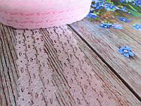 """Кружево """"Цветочная дорожка"""", 2,5 см, цвет светло-розовый, фото 1"""