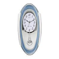 Настенные часы с маятником Rikon 13351 PND Blue