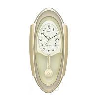 Настенные часы с маятником Rikon 13351 PND Goldsil