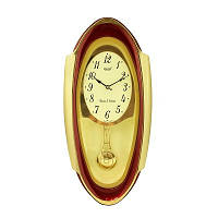 Настенные часы с маятником Rikon 13351 PND Red