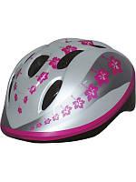 Шлем детский BELLELLI Taglia size-M PINK LEAVES (звезда)