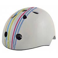 Шлем детский BELLELLI Taglia size-M STRIPS (графити белый)