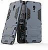 Чехол Iron для Meizu M6S бронированный Бампер Броня Dark Blue