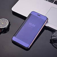 Чехол Mirror для Xiaomi Redmi Note 5A / Note 5A Pro / 5A Prime книжка зеркальный Purple