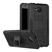 Чехол Armor для Asus ZenFone 4 Selfie / ZD553KL / ZB553KL / X00LDA противоударный бампер черный