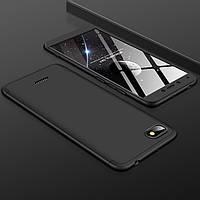 Чехол GKK 360 для Xiaomi Redmi 6A бампер оригинальный Black
