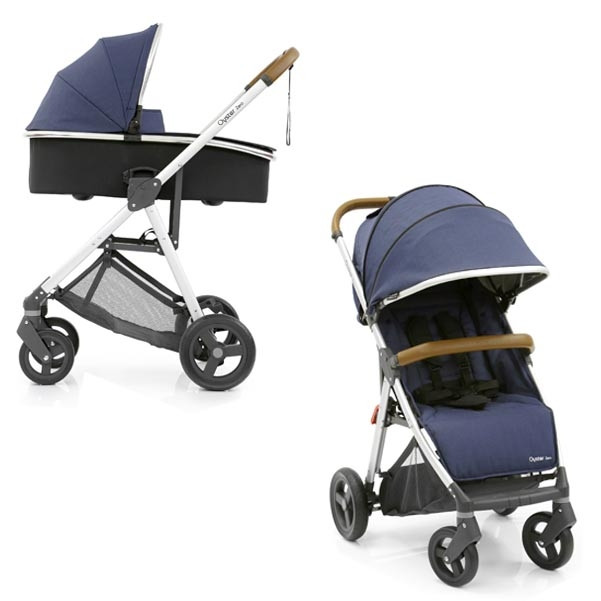 Универсальная коляска 2 в 1 BabyStyle Oyster Zero / Oxford Blue