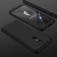 """Чехол GKK 360 для Xiaomi Redmi 5 (5.7"""") бампер оригинальный Black"""