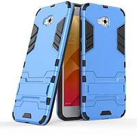 Чехол Iron для Asus Zenfone 4 Selfie / ZD553KL / ZB553KL / X00LDA бампер Броня Blue