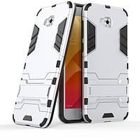 Чехол Iron для Asus Zenfone 4 Selfie / ZD553KL / ZB553KL / X00LDA бампер Броня Silver