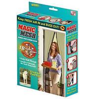 Противомоскитные магнитные шторы magic mesh