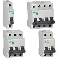 EZ9D34616 Дифференциальные автоматические выключатели Easy9 2п 16А 30мА