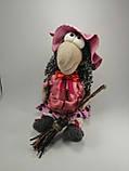 Баба Яга курортница  Интерьерная кукла оберег, фото 3
