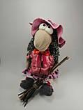 Баба Яга курортница  Интерьерная кукла оберег, фото 4