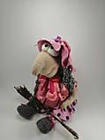 Баба Яга курортница  Интерьерная кукла оберег, фото 6