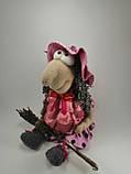 Баба Яга курортница  Интерьерная кукла оберег, фото 7