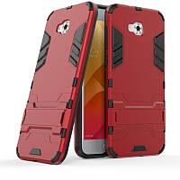 Чехол Iron для Asus Zenfone 4 Selfie / ZD553KL / ZB553KL / X00LDA бампер Броня Red