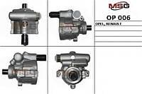 Насос гидроусилителя без шкива MSG Logan/MCV/Sandero OP 006
