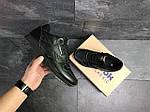 Мужские кроссовки Reebok Classic (черные), фото 5