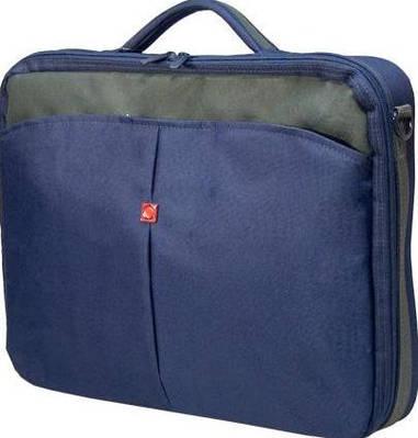 """Портфель для ноутбука 15,6""""-16"""" Continent CC-02 Navy синий"""