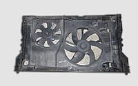 Диффузор вентилятора радиатора Рено Мастер 2.8  в сборе с вентиляторами и моторами б/у
